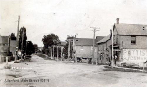 Main street Allenford