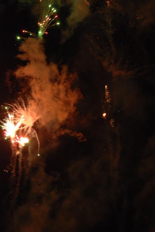 Fireworks were great.